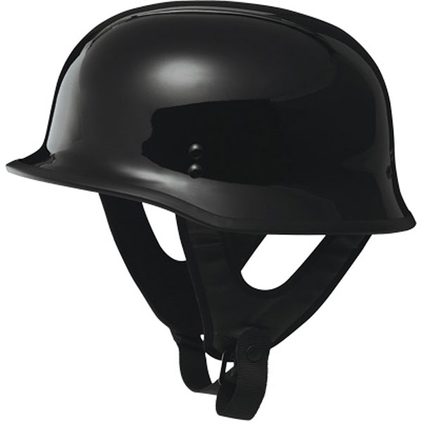 9MM German Helmet gloss black