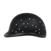 Baddass helmets diamond in the ruff black
