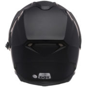 Bell Helmet MAG 9 Sena - matte black - Back side
