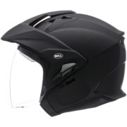 Bell Helmet MAG 9 Sena - matte black - profile - internal shield up