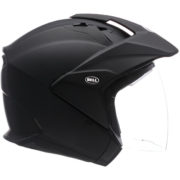 Bell Helmet MAG 9 Sena - matte black - right side - internal shield up