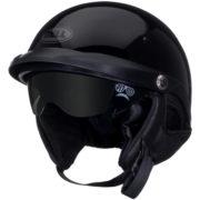 Bell Pit Boss Helmet Glossy Black - left front