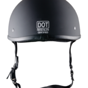 DOT Beanie matte black - back