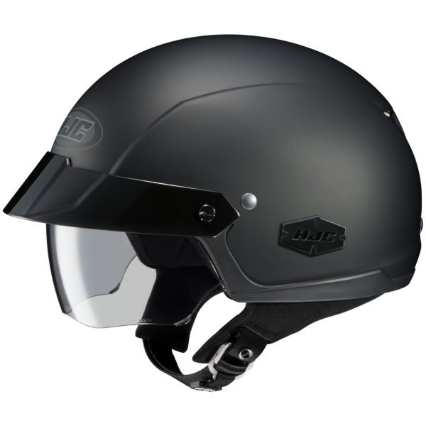 HJC IS Cruiser half helmet matte black left side
