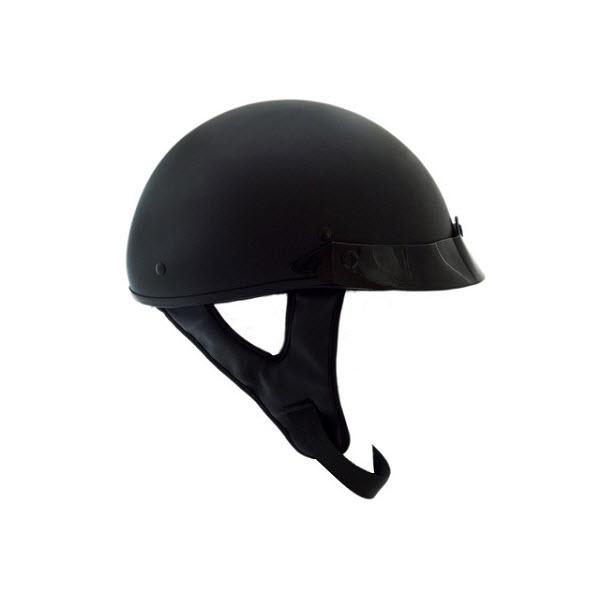 Kali Taz Flat Black Helmet