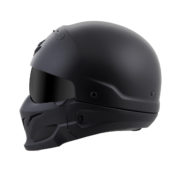 Scorpion covert helmet - profile - flat black
