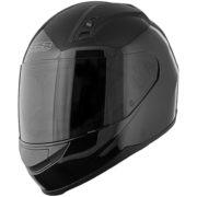 Speed and Strength SS700 helmet gloss black - left side