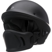 bell rogue helmet flat black - left side