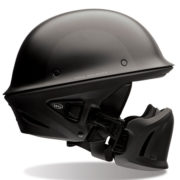 bell rogue helmet flat black - right side