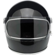 biltwell gringo S helmet gloss black - front