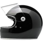 biltwell gringo S helmet gloss black - open shield
