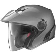 helmet nolan n40 arctic grey - left side