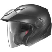 helmet nolan n40 black graphite - left side
