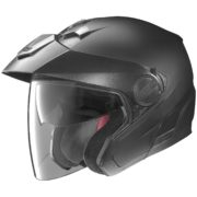 helmet nolan n40 matte black - left side