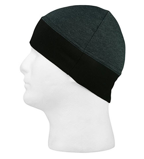 Schampa Stretch Ringer Skullcap Dark Grey One Size