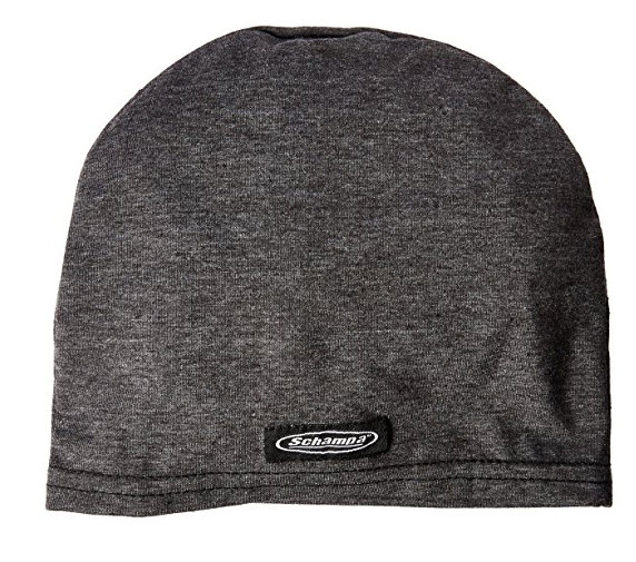 Schampa Stretch SkullCap Dark Gray One Size