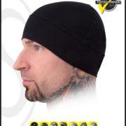 schampa stretch ringer skullcap black all seasons