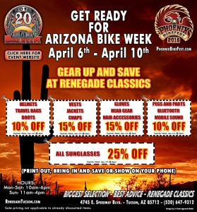 Coupon for Arizona Bike Week