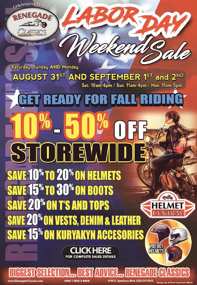 Labor Day Weekend Sale 2019